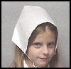 Pilgrim   Bonnet   : Thanksgiving Pilgrim Crafts Projects for Children