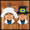 Paper   Plate Pilgrim   : Thanksgiving Pilgrim Crafts Projects for Children