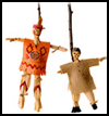 Corn     Husk Puppets . : Pilgrim Crafts Ideas for Kids