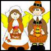 Paper   Pilgrim Girl   : Thanksgiving Pilgrim Crafts Projects for Children