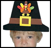 Foamie   Pilgrim Hat  : Pilgrim Crafts Ideas for Kids