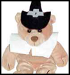 Pilgrim   Hat for Boy Beanbag Animals  : Crafts with Pilgrims