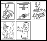 Lil-fingers.com : Free Coloring Thanksgiving Worksheets