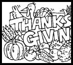 Homeschoolhelperonline.com : Thanksgiving Coloring Printouts