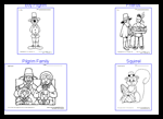 Coloringpagesource.com : Free Coloring Thanksgiving Worksheets