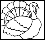 Chiff.com : Thanksgiving Coloring Printouts