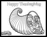 Hellokids.com : Free Thanksgiving Coloring Printouts