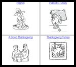 Classbrain.com : Free Thanksgiving Coloring Printables