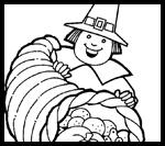 Activity-sheets.com : Thanksgiving Coloring Printouts