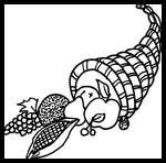 Kidprintables.com : Free Coloring Thanksgiving Worksheets