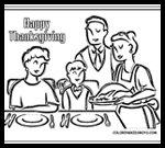 Coloring-pages-book-for-kids-boys.com : Thanksgiving Coloring Printouts