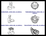 Apples4theteacher.com : Thanksgiving Coloring Pages