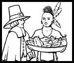 Coloring-page.net : Free Thanksgiving Coloring Pages
