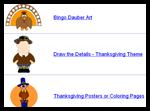 Dltk-kids.com : Thanksgiving Coloring Pages