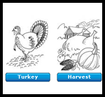 Colormountain.com : Free Coloring Thanksgiving Worksheets