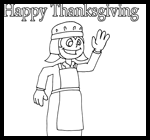 Brendasfriends.com : Thanksgiving Coloring Printouts