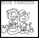 Reading-with-kids.com : Free Thanksgiving Coloring Printouts