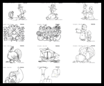 Mes-english.com : Free Thanksgiving Coloring Printouts