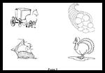 Afunk.com : Free Coloring Thanksgiving Worksheets