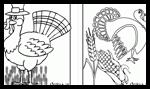 Animaljr.com : Thanksgiving Coloring Printouts