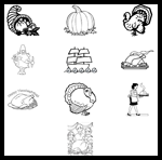 Primarygames.com : Free Thanksgiving Coloring Pages