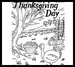 Teachervision.fen.com : Free Coloring Thanksgiving Worksheets