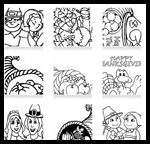 Mahalo.com : Thanksgiving Coloring Pages