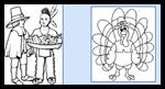Coloring-page.com : Thanksgiving Coloring Printouts