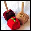 Felt   Apples   : Thanksgiving Crafts Activities for Children