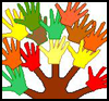 Thankful   Handprint Tree