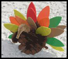 Pinecone   Turkey    : Thanksgiving Arts and Crafts Ideas