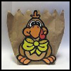 Paper   Bag Turkey    : Thanksgiving Arts and Crafts Ideas