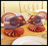 Paper   Turkeys    : Thanksgiving Arts and Crafts Ideas