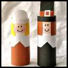 Finger   Puppet Pilgrim   : Thanksgiving Crafts Activities for Children