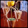 Country   Topiaries   : Crafts Ideas for Kids to Decorate Thanksgiving Tables