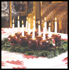 Apple   Candleholders  : Thanksgiving Table Decorations Crafts Ideas