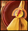 Napkin   Buddy    : Decorating Thanksgiving Tables Crafts for Children