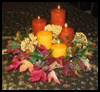 Pillar   Candles    : Decorating Thanksgiving Tables Crafts for Children