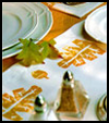 Harvest   Linens    : Decorating Thanksgiving Tables Crafts for Children