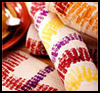 <strong>Corn </strong><strong>Print   Place Mats   : Crafts Ideas for Kids to Decorate Thanksgiving Tables</strong>