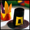 Hatband   Napkin Rings    : Decorating Thanksgiving Tables Crafts for Children