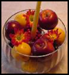 Fruit   and Candle Centerpiece   : Crafts Ideas for Kids to Decorate Thanksgiving Tables