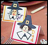 Pilgrim   Place Cards    : Decorating Thanksgiving Tables Crafts for Children