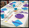 Personalized   Place Mats    : Decorating Thanksgiving Tables Crafts for Children