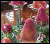Beaded   Fruit Centerpiece  : Thanksgiving Table Decorations Crafts Ideas