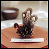 Pinecone   Turkey Decor