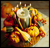 Decorative   Rim Pumpkin   : Crafts Ideas for Kids to Decorate Thanksgiving Tables