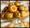 Golden   Gourds   : Crafts Ideas for Kids to Decorate Thanksgiving Tables