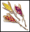 Paper   Indian Corn    : Decorating Thanksgiving Tables Crafts for Children