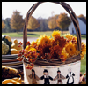 A   Table with Character (Thanksgiving Basket)